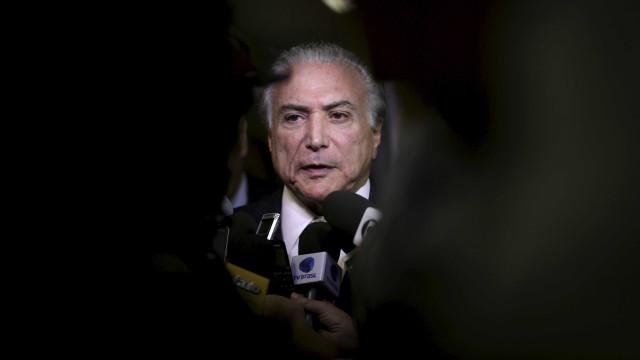 Temer diz não cogitar disputar  reeleição em 2018