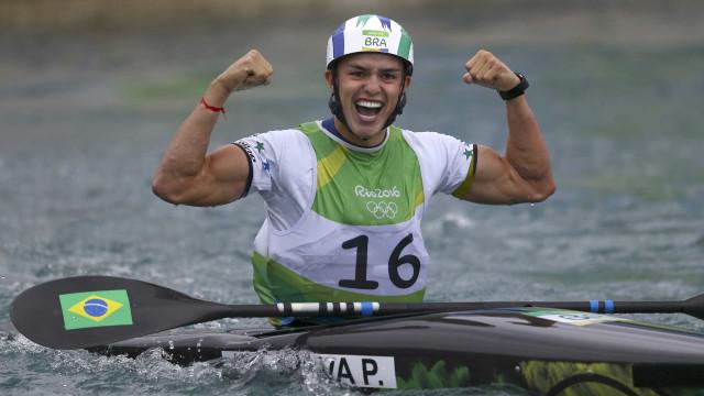 Brasileiro termina final do caiaque individual em 6º