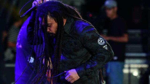 O Rappa faz show em Portugal com  'Fora Temer' na plateia
