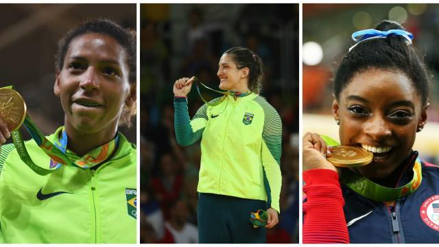 Conheça histórias de superação de mulheres medalhistas da Rio-2016