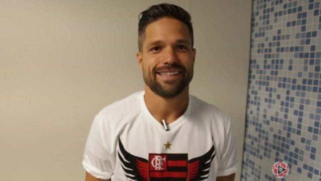 Primeiro treino de Diego no Flamengo deve ser na quinta ou sexta