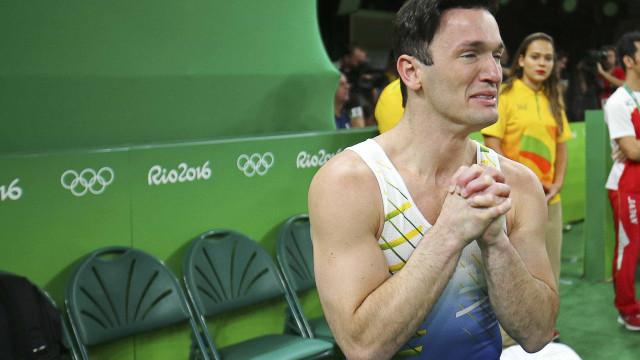 Antes de medalha, Hypolito  sofreu depressão e perdeu 10 kg