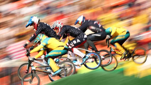 Ciclismo BMX; veja imagens espetaculares