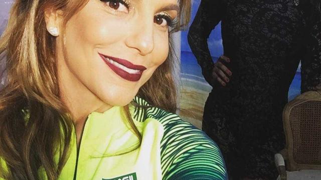 Ivete Sangalo posta vídeo homenageando equipe de nado sincronizado