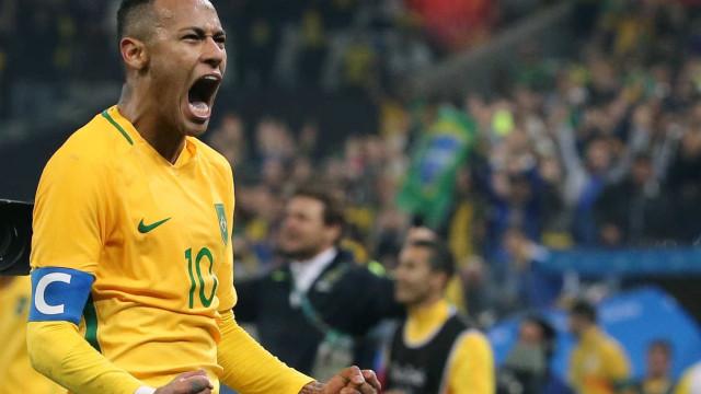 Neymar vira maior esperança  em busca do ouro inédito