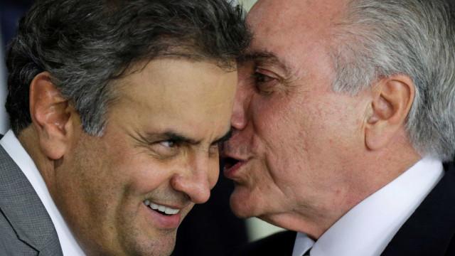 Aécio: 'PSDB quer apoiar o governo,  mas isso depende de Temer'