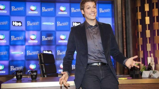 Fábio Porchat manda recado para  Danilo Gentili: 'Boa Sorte!'