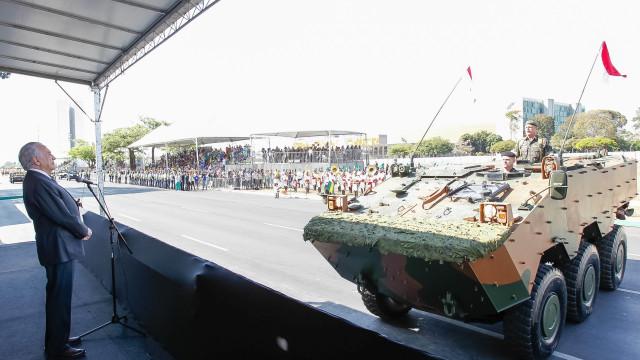 Três mil agentes fazem segurança  do 7 de Setembro no DF