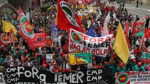 Feriado de 7 de Setembro tem manifestações  contra governo Temer