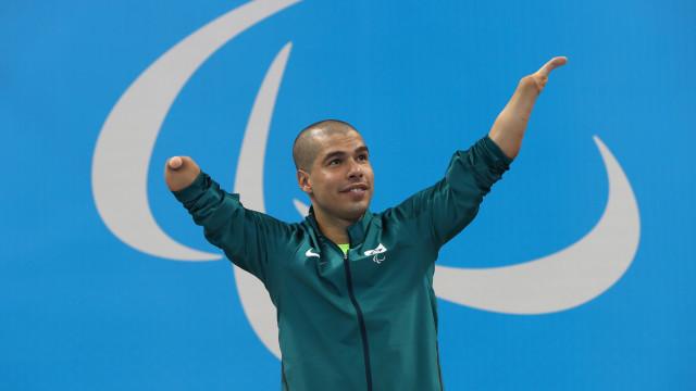 Astro Daniel Dias quer o 'respeito do povo brasileiro'