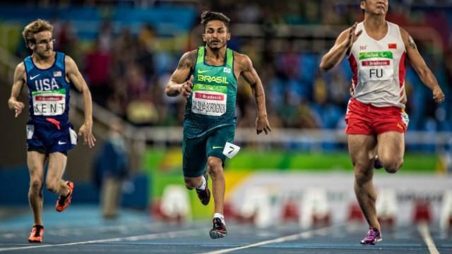 Brasil leva duas pratas nos 100m rasos