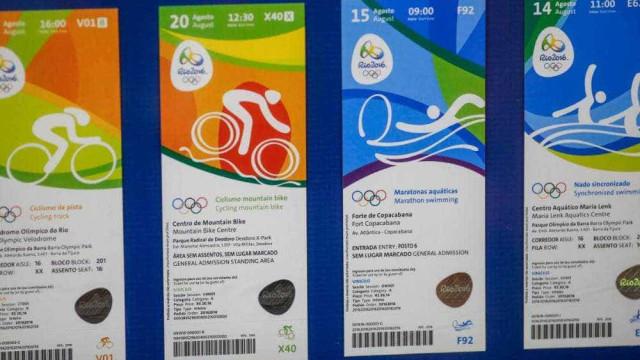 Com filas, mais de 40 mil ingressos dos Jogos do Rio são perdidos