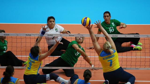 Brasil vence Ucrânia e leva o bronze no vôlei sentado