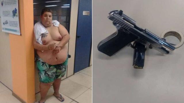 'Peitinho de moça' é preso no Rio