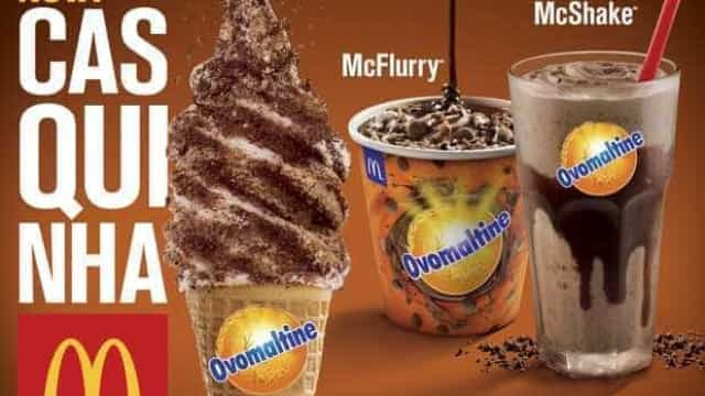 McDonald's anuncia novidades com Ovomaltine