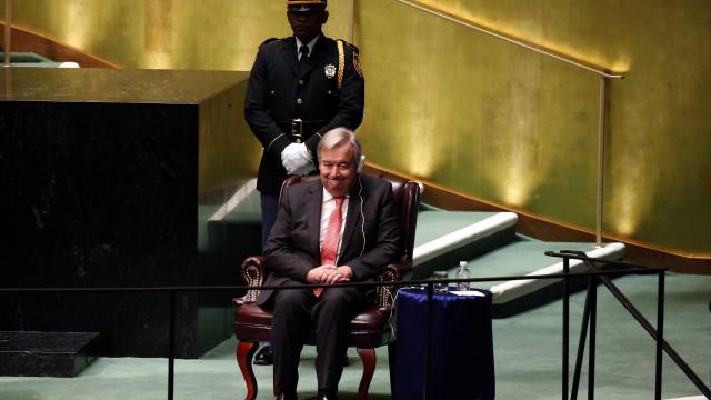 António Guterres é oficializado como  secretário-geral da ONU