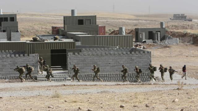 Comandante do Curdistão nega que  EUA estejam construindo base militar