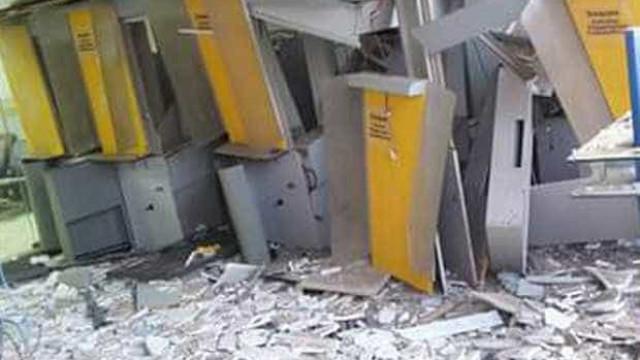 Quadrilha invade Banco do Brasil e explode todos os caixas eletrônicos