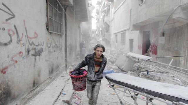 Terroristas usam armas químicas em ataques na Síria