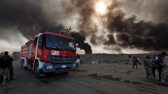 Explosão mata 8 pessoas em Bagdá