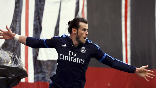 Real Madrid renova contrato de Gareth Bale até junho de 2022
