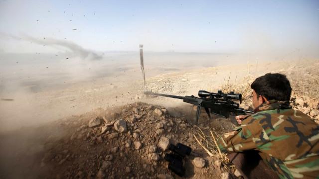 Curdos afirmam ter retomado cidade  próxima a Mossul