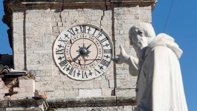 Terremoto na Itália poupou vidas, mas foi cruel com a arte