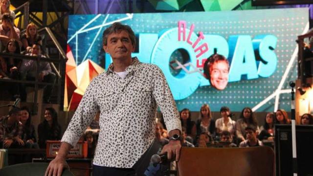 """Globo estuda dar """"férias"""" para Sérgio Groisman e o 'Altas Horas'"""
