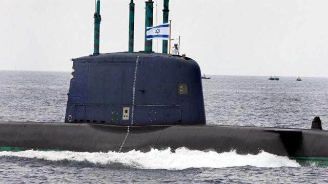 Israel pretende comprar 3 submarinos à Alemanha