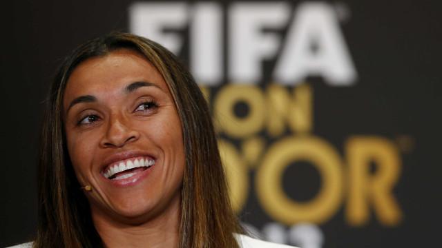 Marta é uma das dez indicadas ao  prêmio de melhor do mundo da Fifa