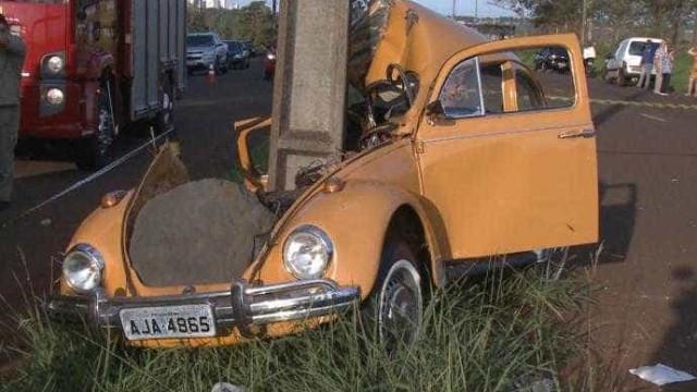 Motorista sofre acidente pela terceira vez no mesmo lugar
