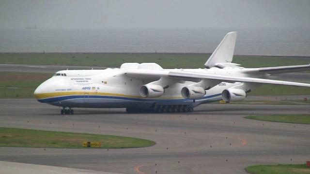Maior avião do mundo parte esta noite para o Chile