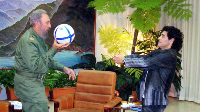 Maradona: 'Fidel Castro foi como um pai para mim'