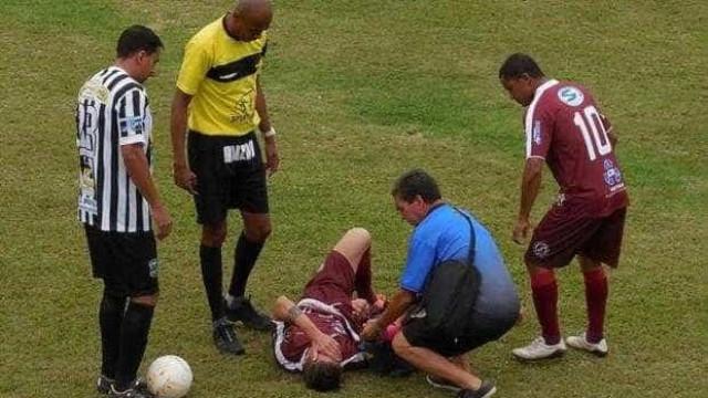 Massagista de clube de SC tem ataque do coração e morre após vitória