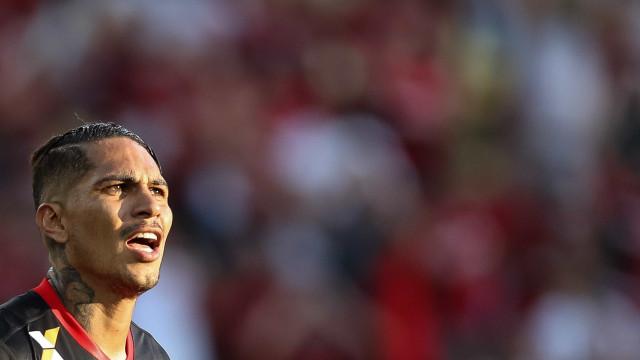 Guerrero tem temporada mais artilheira desde que desembarcou ao Brasil