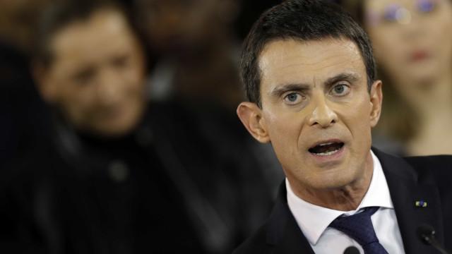 Valls anuncia candidatura à Presidência da França