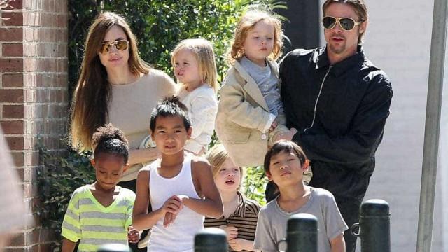Angelina Jolie proibiu Brad Pitt de passar feriado com os filhos