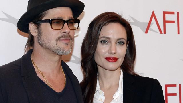 Jolie exigiu testes de álcool e drogas de  Pitt na briga pelos filhos