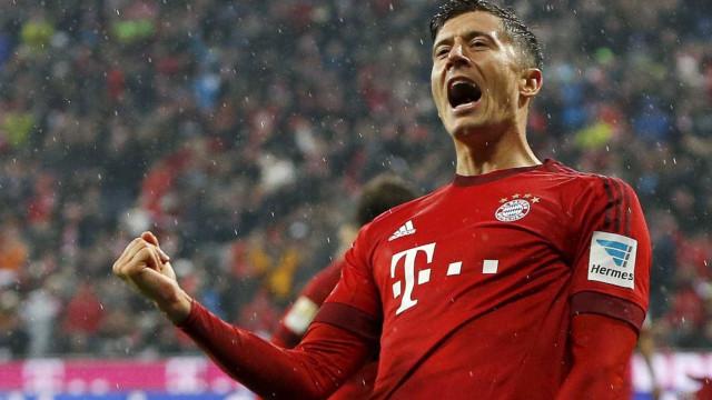Lewandowski estende contrato com o Bayern de Munique até 2021