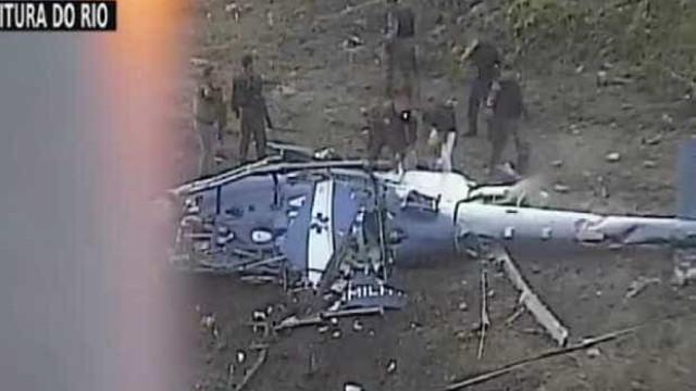 Helicóptero da PM não foi alvo de tiros