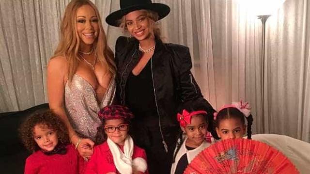 Kanye West ficou arrasado com encontro de filhos de Beyoncé e Mariah