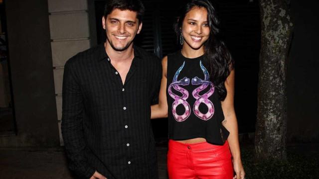 Bruno Gissoni e Yanna Lavigne vão ter uma menina