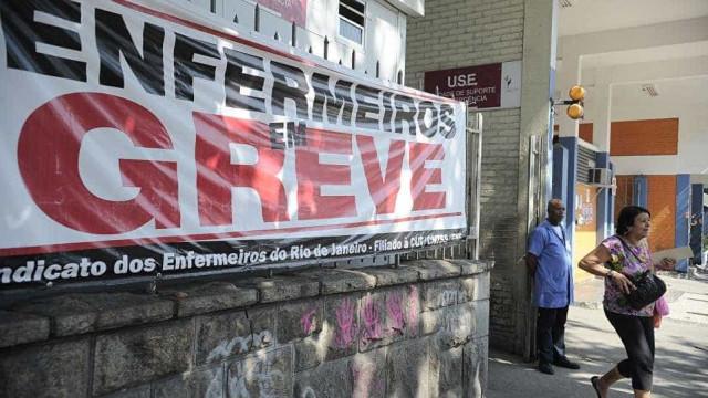 Saúde do Rio entra em  2017 com nova greve