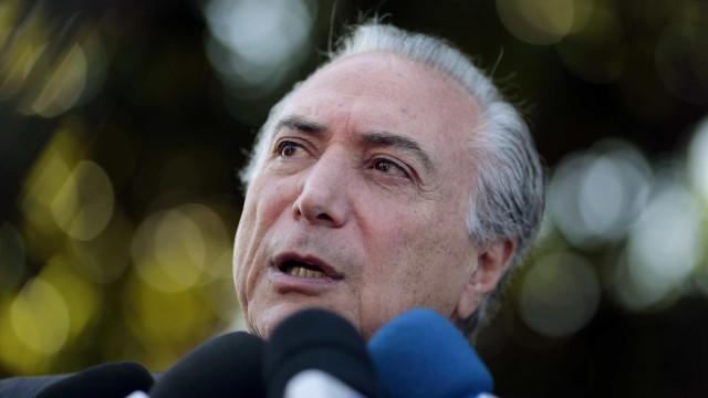 Para Temer, placar de PEC foi menor pois Renan antecipou votação