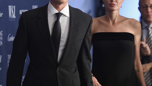 Brad Pitt chora por passar fim do ano longe dos filhos