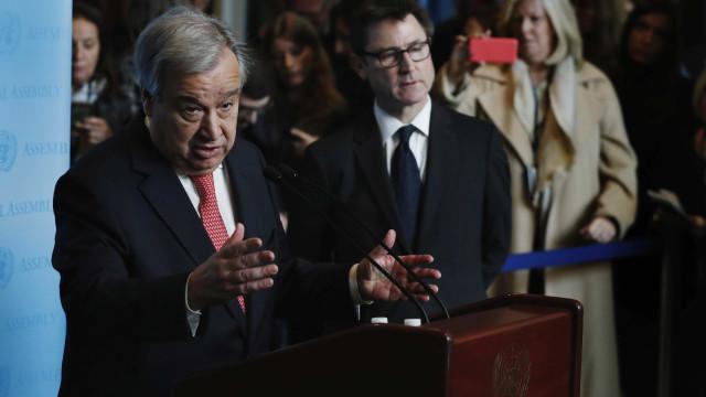 Novo secretário-geral da ONU convoca  países a superarem divergências