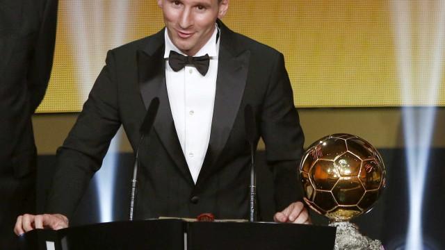 Messi não irá à cerimônia de premiação de melhor do ano da Fifa