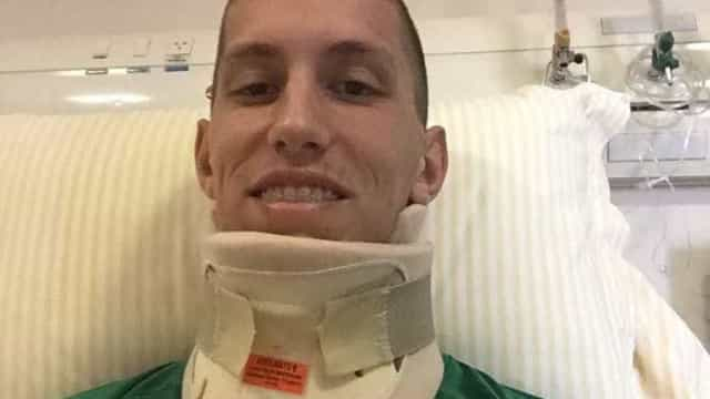 Follmann grava vídeo para dizer que está bem e terá alta em breve