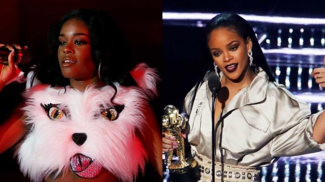Após briga, Azealia Banks posta número de celular de Rihanna na web