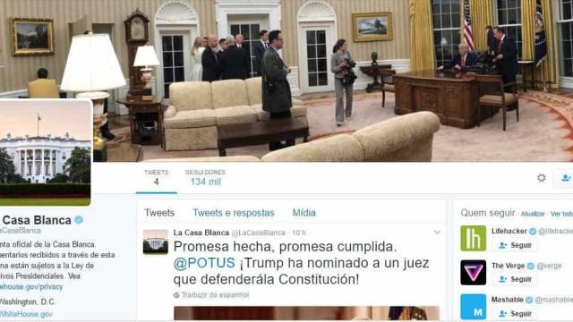 Casa Branca reativa canal oficial em espanhol na internet